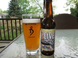Southern Tier Live - I had the opportunity to try this on tap at Ithaca Ale House, but since it's mostly been marketed for it's bottle conditioning I decided not to. I was a big fan of Southern Tier's Pale and thought this was enjoyable too.