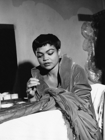 divalocity:  A Glamtastic Flashback: Eartha Kitt - 1959 by Isaac Sutton.  Eartha Kitt, 1959 by Issac Sutton