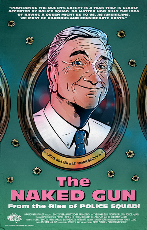 My Naked Gun poster illustration from last year, soon to feature in a new book about underground movie posters! (via The Naked Gun)