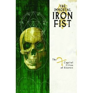 Immortal Iron Fist, Vol. 2: The Seven Capital Cities of Heaven (v. 2) Ed Brubaker (Author), Matt Fraction (Author), David Aja (Illustrator), Howard Chaykin (Illustrator), Dan Brereton (Illustrator), Jelena Kevic Djurdjevic (Illustrator) 6 new from $25.32 13 used from $18.62 Once a generation, the Seven Capital Cities of Heaven align on a plane far beyond the ken of mortal men. It is here that these cities send their Immortal Warriors to compete against one another in a combat tournament to end all tournaments, and it is here that Daniel Rand was spirited to in his darkest hour. Generations of mystical war traditions await their chance to prove they have the greatest kung-fu - to the Immortal Iron Fist!
