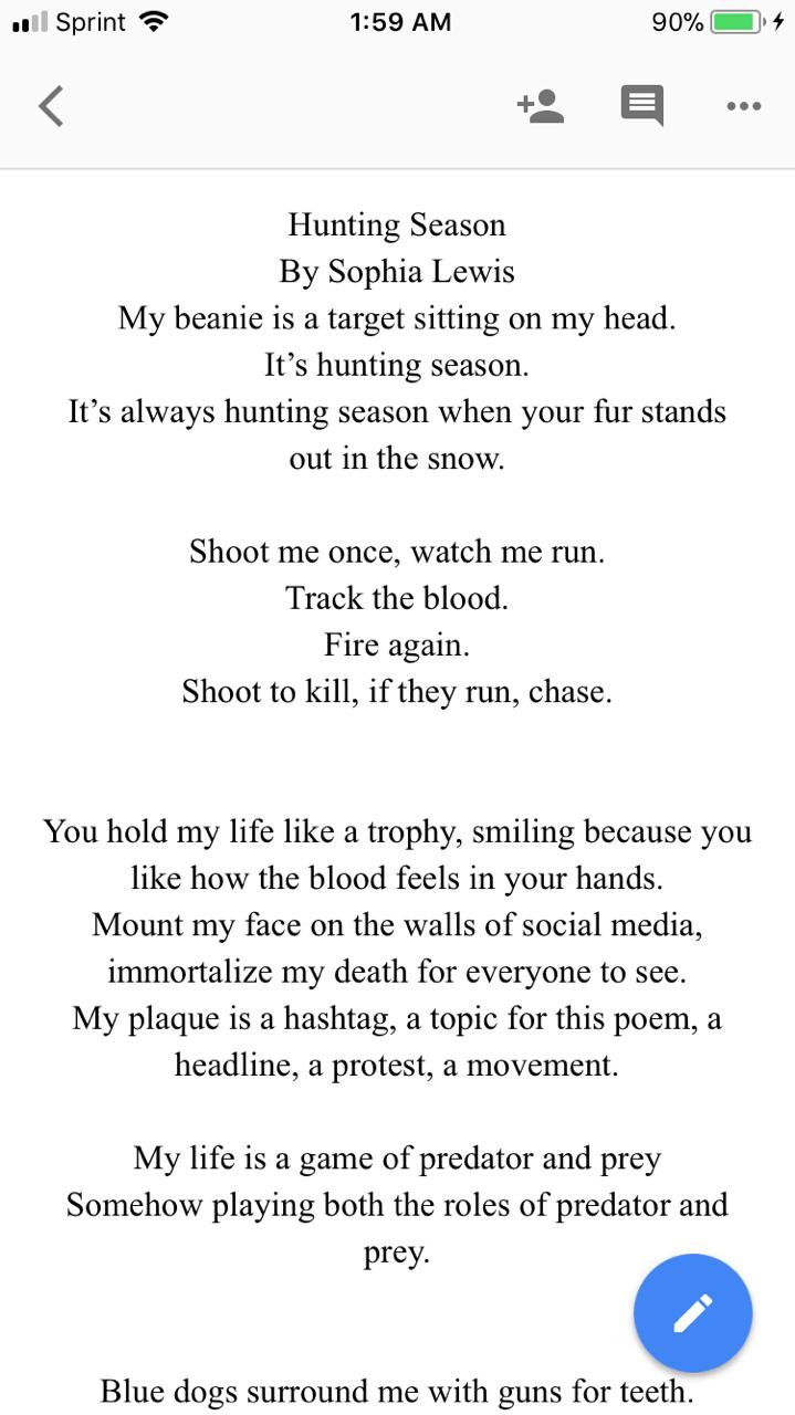 Feminist Slam Poems 3