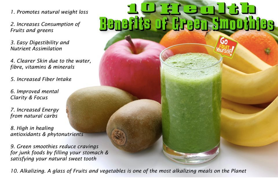 Green smoothies are what first got me into the raw food lifestyle. Not only are they healing to the body, but they are also delicious and easy to make! Here is a simple green smoothie recipe: 1 Apple 3 Spotty Ripe Bananas 2 Handfuls of Baby Spinach 1/2 Teaspoon of Cinnamon 1 1/2 Cups of Water