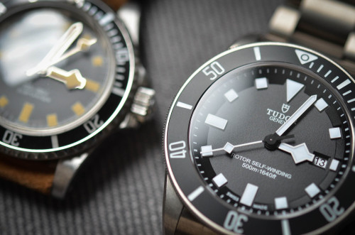 Earlier this week, @benjaminclymer reviewed the brand new Tudor Pelagos dive watch.  It's not sold in the US, but it's one you need to know.  Read the full review and watch the video here.