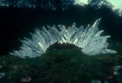 expiry:  Andy Goldsworthy - Ice Arch, 1982