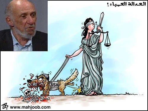 "Image: Antisemitic cartoon published by Human Rights Watch committee member Richard Falk on his website.   Human Rights Watch Should Remove Antisemitic U.N. Official Richard Falk from Its Board The following letter was sent today to Human Rights Watch executive director Kenneth Roth.     Kenneth RothExecutive DirectorHuman Rights Watch350 Fifth Avenue, 34th FloorNew York, NY 10118-3299United States of America December 17, 2012 Dear Mr. Roth, We are shocked to discover that Richard Falk—the U.N. official whose antisemitic remarks and 9/11 conspiracy theories have been condemned by British Prime Minister David Cameron, U.S. Ambassador Susan Rice, U.N. Secretary-General Ban Ki-moon and U.N. High Commissioner for Human Rights Navi Pillay—is a board member of your organization. By legitimizing this racist and enemy of human rights, your organization undermines its own founding principles. We urge you to remove him immediately. According to your website, Mr. Falk is a member of Human Rights Watch's prestigious Santa Barbara Committee, composed of prominent citizens who play a key role in your organization's global work. We find it astonishing that Mr. Falk would be rewarded by such an eminent position with Human Rights Watch, one of the world's largest human rights organizations. As a keen follower of the U.N. and its Human Rights Council, you surely know the following: •  That Falk is so extreme in his support for the Hamas terrorist organization that even the Palestinian Authority—as revealed in a Wikleaks cable, and which Falk himself admits—has sought to remove him, on grounds that he is a ""partisan of Hamas""; • That Falk last week published an article attempting to downplay, reinterpret and justify the latest call by Hamas leader Khaled Mashaal to destroy Israel; •  That Falk last year published on his website an antisemitic cartoonshowing a dog wearing a Jewish head covering, and with ""USA"" written on its body, urinating on a depiction of justice and devouring a bloody skeleton; •  That Falk was condemned for this antisemitic act by British Prime Minister Cameron; •  That UN High Commissioner for Human Rights Navi Pillay also condemned Falk's cartoon as ""antisemitic""; • That Falk now provides the cover endorsement of a virulently antisemitic book, ""The Wandering Who,"" whose author, as documented by Harvard law professor Alan Dershowitz in The New Republic, boasts about drawing ""insights from a man who… was an anti-Semite as well as a radical misogynist,"" a hater of ""almost everything that fails to be Aryan masculinity,"" declares himself a ""proud, self-hating Jew,"" writes with ""contempt"" of ""the Jew in me,"" and describes himself as ""a strong opponent"" of ""Jewish-ness""; •  That, only two months ago, Falk was condemned for endorsing this antisemitic book by the British Foreign Office, which protested to the U.N. and expressed its ""serious concerns"";  Human Rights Watch committee member Richard Falk has been condemned for antisemitism, supporting Hamas, and spreading the 9/11 conspiracy theory. •  That Falk accused Israel of planning a ""Palestinian Holocaust,"" prompting a bloc of dictatorships, including Bashar al-Assad's Syria and Muammar Gaddafi's Libya, to successfully nominate him as the UN Human Rights Council's expert on Palestine; •  That his UNHRC mission is so biased that Falk tries to obscure it, calling himself the Special Rapporteur on ""the situation of human rights in the Palestinian territories,"" implying a regional jurisdiction that objectively treats all actions and parties, whereas in fact his mandate is to investigate only ""Israel's violations""; •  That Falk is one of the world's most high-profile 9/11 conspiracy theorists, lending his name to those who accuse the U.S. government of orchestrating the destruction of the Twin Towers as a pretext to launch wars in Iraq and Afghanistan; •  That Falk actively promotes the writings of David Ray Griffin, a disciple and close friend of Falk who has produced 12 books describing the World Trade Center attack as ""an inside job""; •  That Falk not only contributed the Foreword to Griffin's 2004 ""The New Pearl Harbor""—praising the author's ""patience,"" ""fortitude,"" ""courage,"" and ""intelligence""—but Griffin credits Falk for getting the book published, and also specially thanks Falk's wife, Hilal Elver, someone who is also a member of Human Rights Watch's Santa Barbara Committee; •  That Falk has repeatedly appeared on the ""TruthJihad.com"" show of Kevin Barrett, a 9/11 conspiracy theorist and Holocaust skeptic who rails against the ""ethnic Jews"" who he says run Washington and the media, a show on which Falk has endorsed Barrett's ""good work"" while also praising Iranian tyrant Mahmoud Ahmadinejad; •  That UN Secretary-General Ban Ki-moon took the floor of the Human Rights Council to issue an unprecedented condemnation of Falk's 9/11 remarks, saying they were ""preposterous"" and ""an affront to the memory of the more than 3,000 people who died in that tragic terrorist attack""; •  That U.S. Ambassador Susan Rice denounced Falk's comments as""despicable and deeply offensive,"" and condemned Falk's ""one-sided and politicized approach,"" saying his words were ""so noxious that it should finally be plain to all that he should no longer continue in his position,"" and that ""the cause of human rights will be better advanced without Mr. Falk and the distasteful sideshow he has chosen to create."" I am sure that all of this is already known to you, but we include this evidentiary record for the benefit of your board members, whom we trust will act swiftly to remove Mr. Falk from your organization. The cause of human rights, including the struggle against all forms of racism and antisemitism, requires no less. Thank you for your urgent attention to this matter. Sincerely, Hillel C. NeuerExecutive DirectorUN Watch    1 Response to ""Human Rights Watch Should Remove Antisemitic U.N. Official Richard Falk from Its Board SANJAY DIXIT Dec 18th, 2012 at 7:18 am  Mr Richard Falk is an eminent lawyer of international repute. It is really unfortunate that his sense of justice has degenerated beyond his own recognition. He is no longer able to take a judicious position on the Israel-Palestine conflict. This is because of his extreme anti-Semitic position. Mr Richard Falk needs to introspect his personal reasons for taking this sort of an extreme anti-Semitic position since it is only a self-destructive position vis-a-vis his own profession. His current position contravenes the principles of Human Rights for which UN Watch and Human Rights Watch exist and work. His current extreme anti-Semitic position is not justified because it does not stand the test of reason and justice. Dear Mr Richard Flak kindly note and set right as soon as possible – this will be good for you."