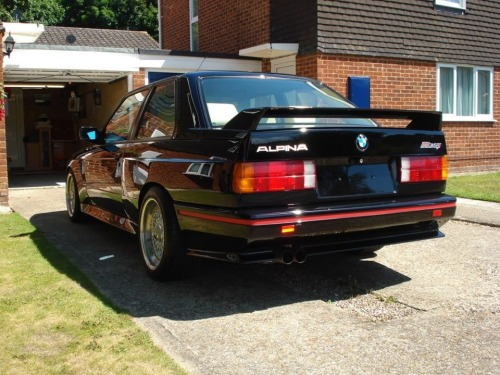 function-over-form:  bikesandcars:  Alpina B6 S  I've read of these, but it's the first time seeing it. Would love more shots!
