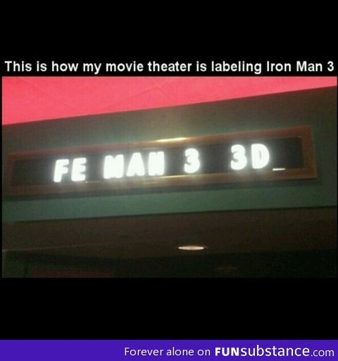 funsubstance:  Fe man 3