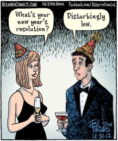 laughingsquid:  New Year's Resolution