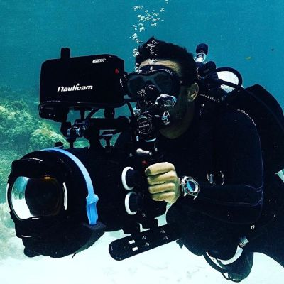 Instagram Re-post ralftech_official Our friend @sempekevin filming the chubby mermaids in Belize. Featuring WRX Original. Be ready for new adventures! [ #ralftech #monsoonalgear #divewatch #watch #toolwatch ]