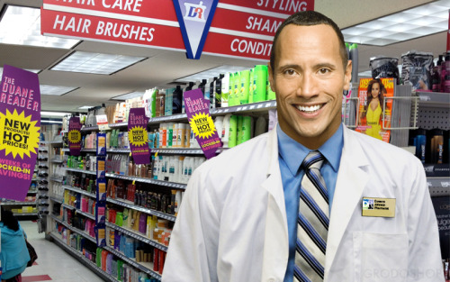 "Dwayne ""The Reade"" Johnson Suggested by Tim Bierbaum"