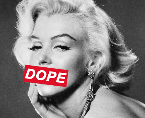 Marylin Monroe is dope#!!! Hehe