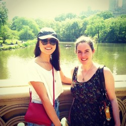 👯 #summer #nyc #girls #asian #goodtimes #travelgram #traveldiary #instalove #instapic #instadaily #centralpark (at Central Park - Bow Bridge)