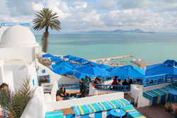 westeastsouthnorth:  Sidi Bou Said, Tunisia