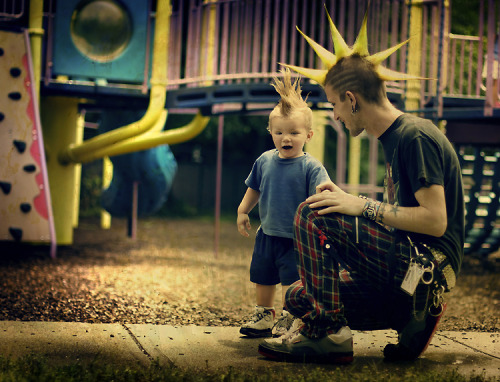 gypsydance: my future child will have a mohawk. THIS.