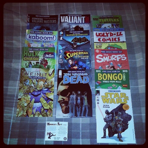 Free comic day 2013 #macomics