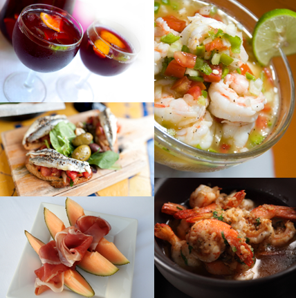 Have plans for tonight yet? It's Tapas Tuesday! Join us oceanfront at Carbon Beach Club from 3:30-late for Chef Victor's tasty tapas and sumptuous sangria! Get your choice of two tapas plus sangria for only $22. Bring a friend and double the fun! Carbon Beach Club is located inside the Malibu Beach Inn, at 22878 Pacific Coast Hwy in Malibu, California. Visit our website or call 310.456.6444 for reservations.