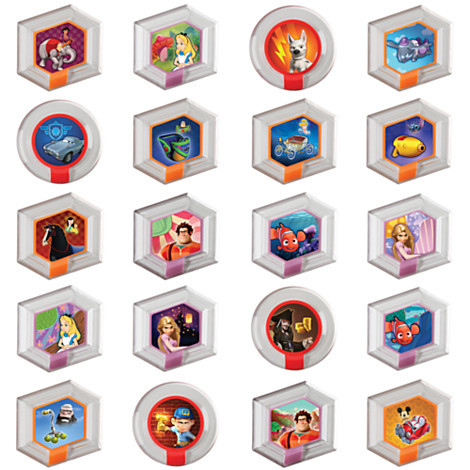 Disney Infinity Series 1 Power Discs Revealed - Homages To Up, Dumbo, Mickey Mouse, Toy Story, Aladdin, Mulan & More. View more images here!