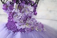 lavender and purplesugar plum tutu dress by cookiesandcostumes via [Enzie Shahmiri Designs]