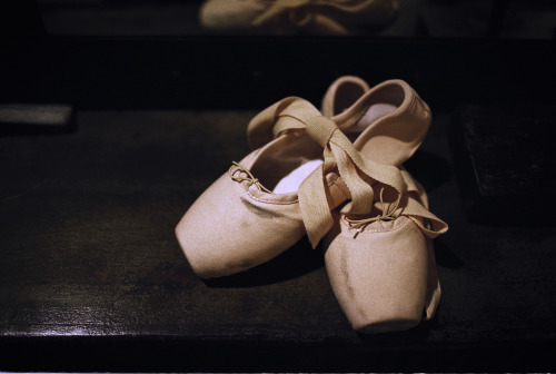 theantidote:  The Pink Ballet Shoes (by 酷子)
