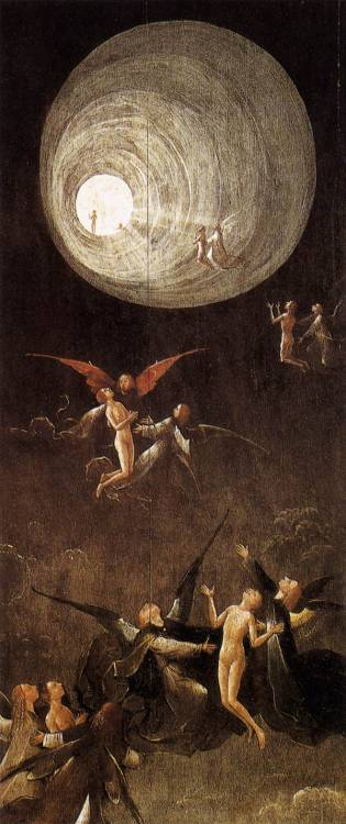 mythologyofblue:  Hieronymus Bosch, Ascent of the Blessed, post-1490. + + (via jahsonic)