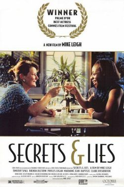 Secrets & Lies (1996) Mike Leigh's films have been a little hit and miss for me so far - I really liked Naked (1993), but I had a lot of problems with Another Year (2010). Thankfully, I liked this one a lot. It felt very realistic, which was good, even if I found it painful at times. Some of the characters are so awful, I found it a little hard to watch. The performances are great all around though, with Brenda Blethyn giving a particularly brilliant one. Some of the dialogue wasn't so good. I think it might have actually been better as a mini-series, as I felt there were aspects that weren't as explored as they could have been.