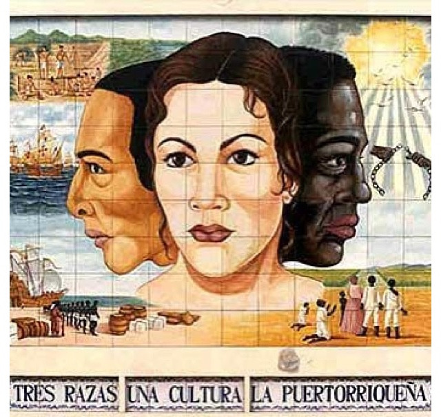 rastarican:  3 races, one culture, la puertorriqueña