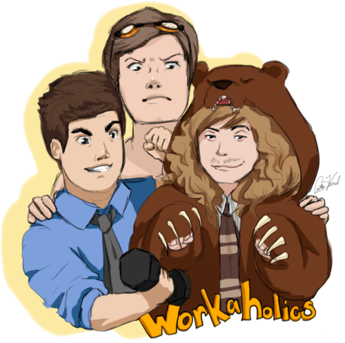 workaholics:  I hope you guys like it c: Wow.  Now that's trying the right amount.  Well done.