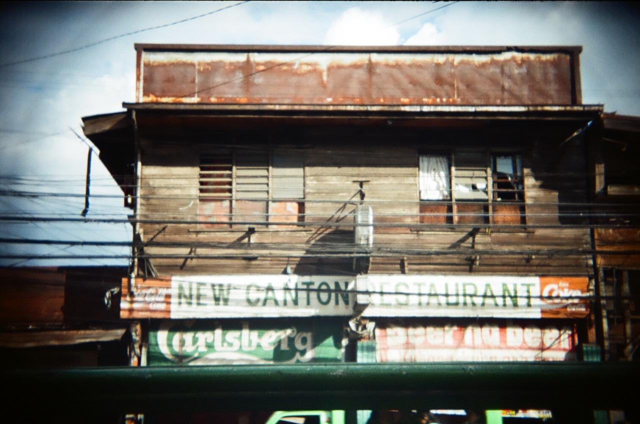 an old restaurant in Davao City, Philippines used the Lomo cn400 35mm film