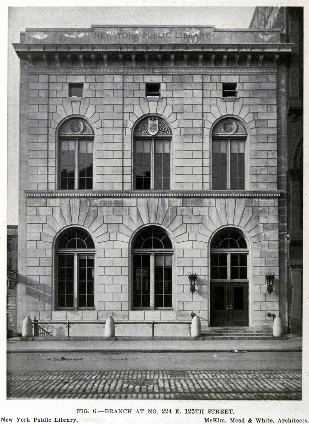 The New York Public Library Branch at 224 East 125th Street, New York City
