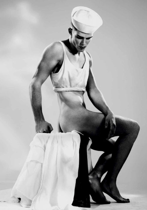 Nils Butler by Willy Vanderperre, VMAN #13 Spring 2009