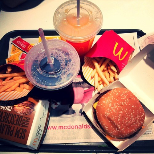 Foodtime! #food #McDonalds #Brothers #SP