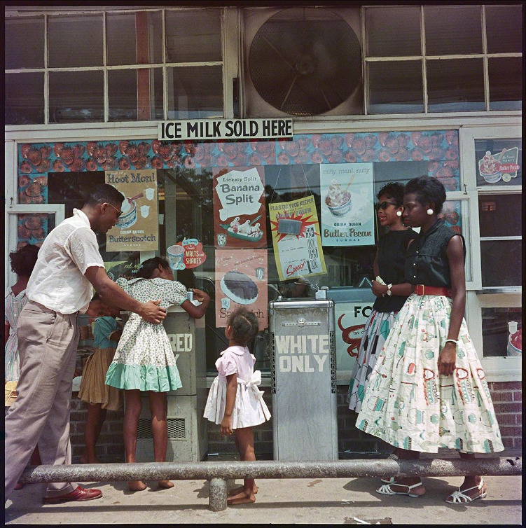 artruby:  Gordon Parks, Segregated drinking fountain, Mobile, Alabama, 1956, (1956) at Adamson Gallery.