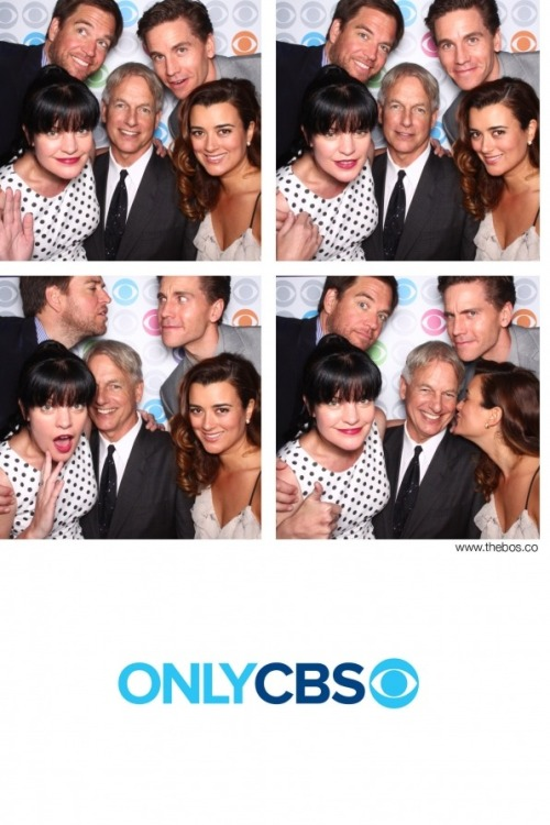 heyitstheian9530:  2013 CBS Upfront Party - NCIS Cast