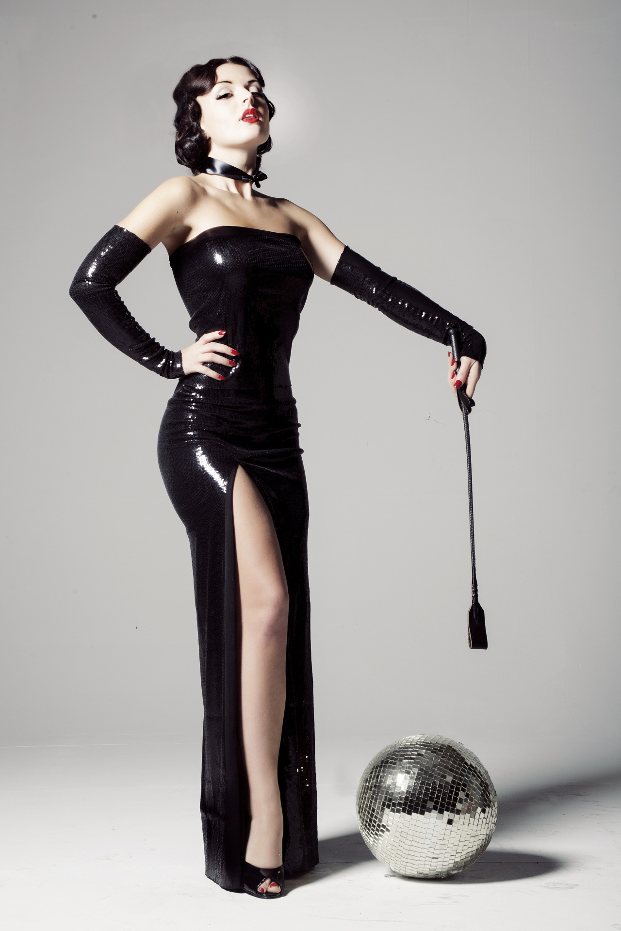 Dominatrix! anastasiaarteyeva:  Costume by Michelle Li Murphy Photo by Rebecca Lawrence.