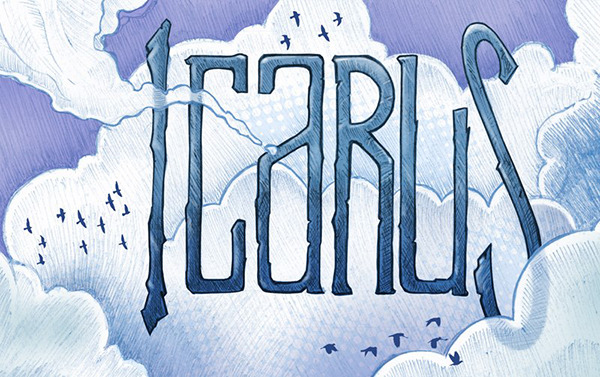 "charliebink:  My buddy Tom has finished a beautiful new webcomic called Icarus. It's very poetic and it's unique use of parallax scrolling is incredibly innovative. I don't think I've ever seen a webcomic built this way before. Check it out! (and remember to scroll down the page!)  ""Icarus"" By Tom Columbus  Great comic Tom"