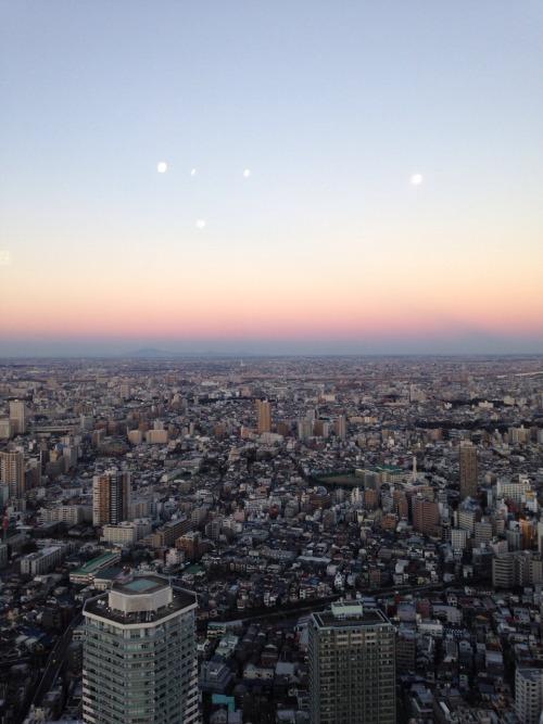 skyline japan tokyo sunshine 60