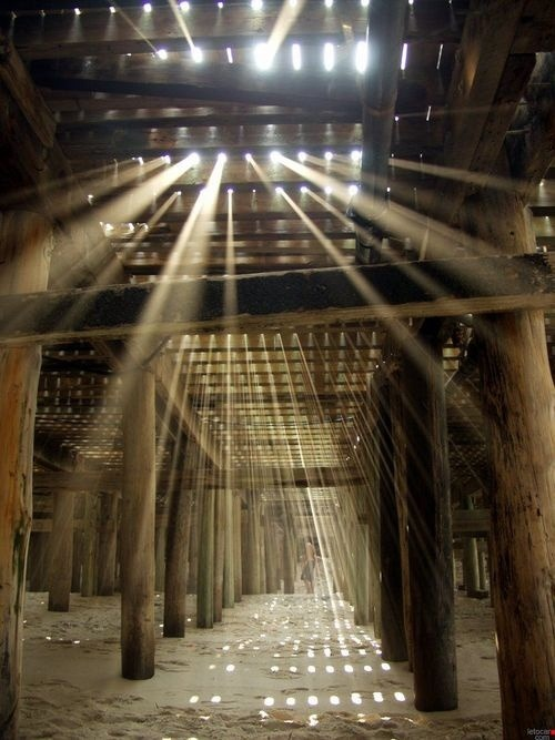 Sun Ray Boardwalk, Jersey Shore photo via pine