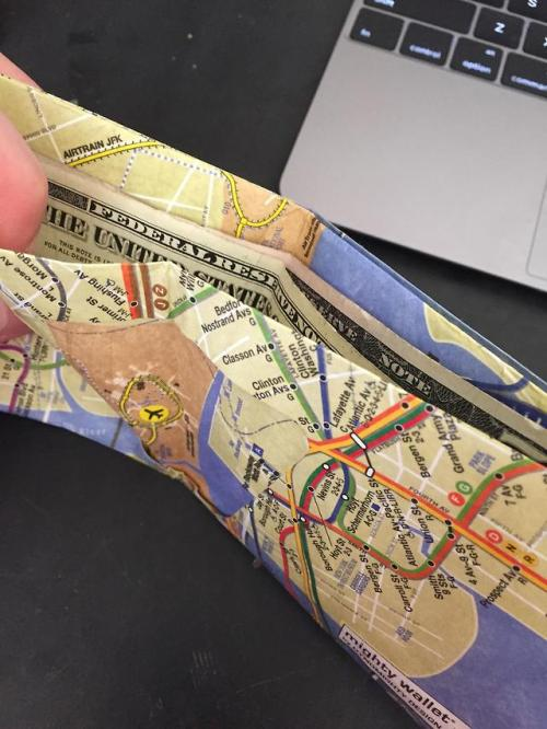 maps wallet nyc