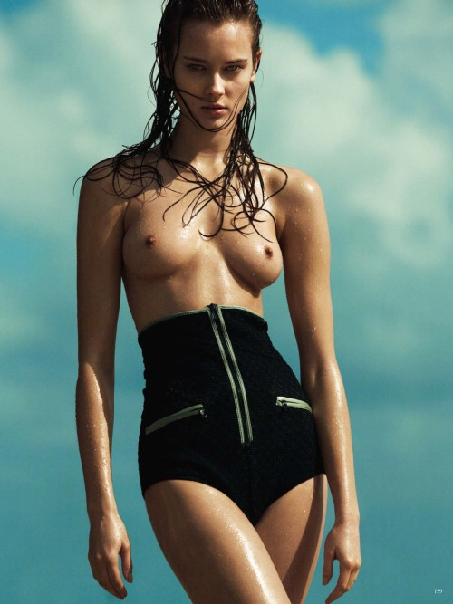Jac Jagaciak by Greg Kadel for Vogue Germany June 2013.