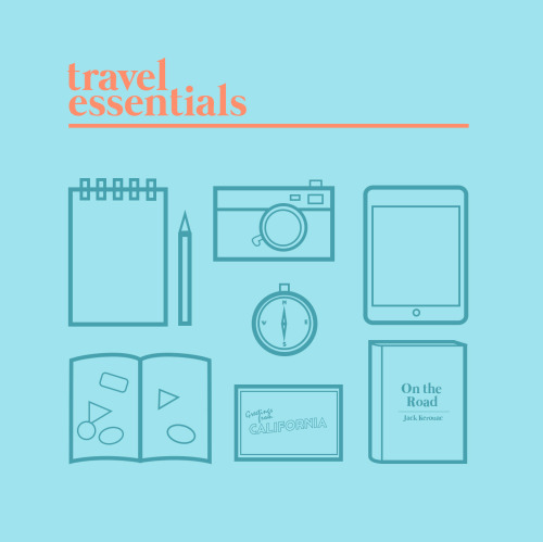 Travel Essentials by lastminute ————————get your work featured by submitting it to designersof.com