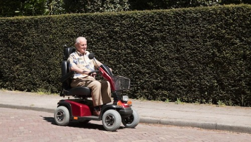 "Are seniors being swindled by scooter companies? The plot thickens over power wheelchair ads, ""brainwashed"" patients, coerced doctors, and Medicare fraud."