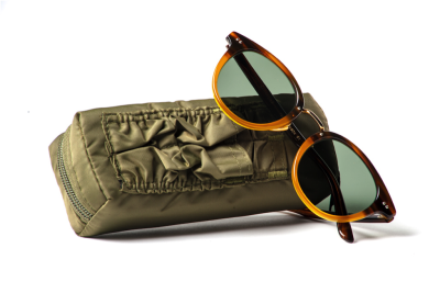 MA-1 jacket style sunglasses case.
