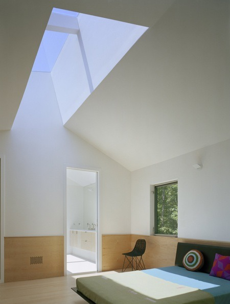 sagaponac house | skylight ~ stan allen architect