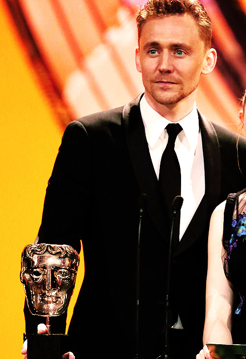 sincericida:  Tom Hiddleston at the BAFTA Film Awards 2013