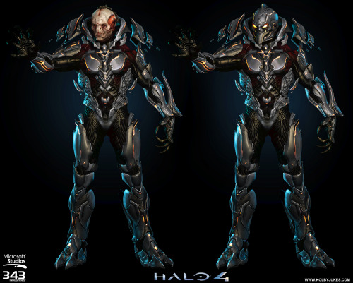 Another shot of the ingame Didact model from Halo 4. HIGH-RES IMAGE