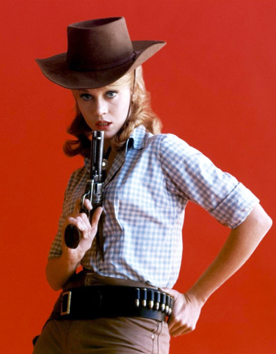 theswinginsixties:  Jane Fonda publicity still for 'Cat Ballou', 1965.