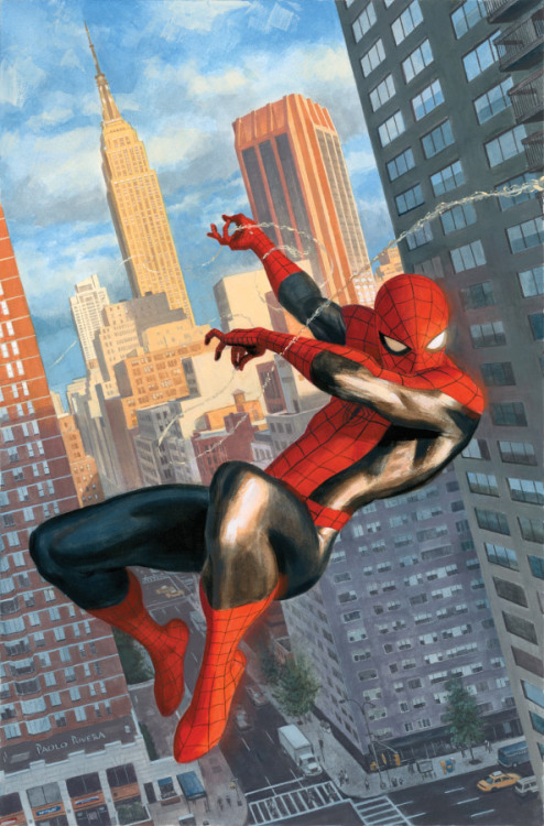 "half-baked-barry:  ""Spider-Man"" by Paolo Rivera"