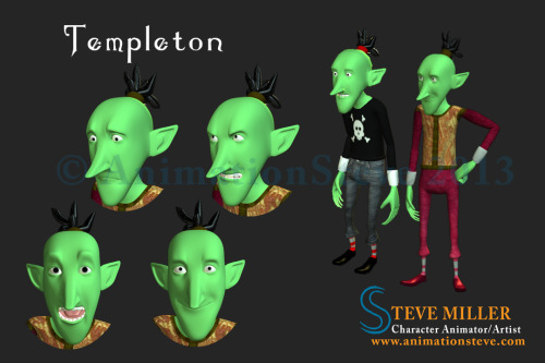 Added a new skull and jeans outfit for Templeton. :)