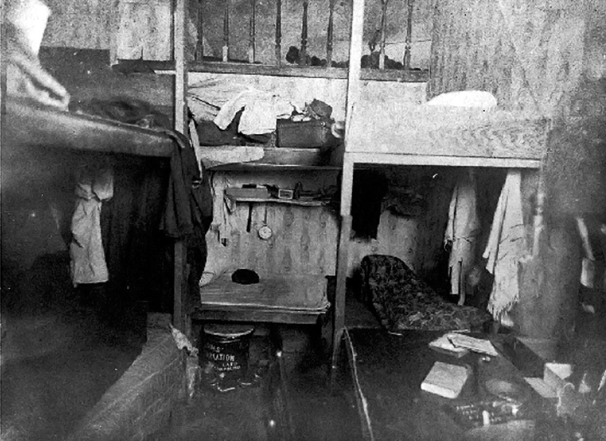 "Chinatown Opium Dens, Saturday 22 June 1901 When the Royal Commission to Investigate Chinese and Japanese Immigration came to Vancouver in 1901, the commissioners wanted to see Chinatown opium dens first hand. They hired a photographer and went on a tour led by Detective Wylie, who was supposedly ""learned in the ways of the Chinese."" The World newspaper used the photos to describe the opium dens in detail:     [The commissioners] visited the ""dope"" dives in the rear of No. 6 Dupont [East Pender] street, which is just around the corner from Carrall, and in the rear of No. 96, as nearly as can be judged from the position of the numberless shacks on the alley. Police supervision is too strict in Vancouver to make it possible to have anything like recognized opium parlors, furnished with swell fittings as can be seen in San Francisco, for instance. But the Chinese have small rooms off their living apartments where they lie in numbers and smoke dope to their hearts content, though the surroundings are not very up to date, even for a dope joint. They engaged a photographer, one of the Edwards Bros., and the result of their trip is as fine a collection of flashlight photos as could possibly be secured even in San Francisco, where the Chinese abound in such large numbers. There are whole rooms of the Chinese, lying stretched out on beds, with the opium apparatus laid out before them – all unmindful that their attitudes and surrounding conditions are being taken note of to assist in keeping the remainder of their countrymen entirely out of Canada. There are some delightful postures, by the way. There are big Chinese and little; some sitting, some lying down, one is stretched his full length, while another fellow is lying all doubled up, as if it hurt him to smoke or make any kind of an effort …  The photographs show Chinamen in all stages of coma and semi-consciousness. Some pictures show them lying in a row, with the gambling paraphernalia around them. The work done in obtaining these photographs is exceedingly creditable, when it is considered how shy the Chinese generally are of such intrusion. Beyond the lower grade of the demi-monde, and a few men who are confirmed fiends, the police say that the number of whites who smoke opium in Vancouver is extremely small and that to all practical purposes the habit is not growing among the whites.     Unfortunately, I couldn't find the opium den photos in question (the above image of a Chinatown rooming house was taken a year later). It's possible the photos are languishing somewhere at Library & Archives Canada, though it's more likely they were tossed out at some point. Photos made extremely persuasive evidence for social reform campaigners, beginning with Jacob Riis, who pioneered the use of flash photography to document slum conditions in New York's infamous Five Points. That neighbourhood no longer exists, thanks largely to Riis' efforts. In this case, the photos were used to bolster the case for excluding Chinese immigrants. The chief recommendation of the Commission was to raise the head tax to $500. A complete ban on Chinese immigration came in 1923. Also worth noting is that opium wasn't outlawed until 1908, but that didn't stop the police from harassing drug users in Chinatown and ""supervising"" drug dens. Source: Photo ""Vancouver Chinatown - Sleeping quarters for 16,"" December 1902, British Columbia Archives #D-00335"