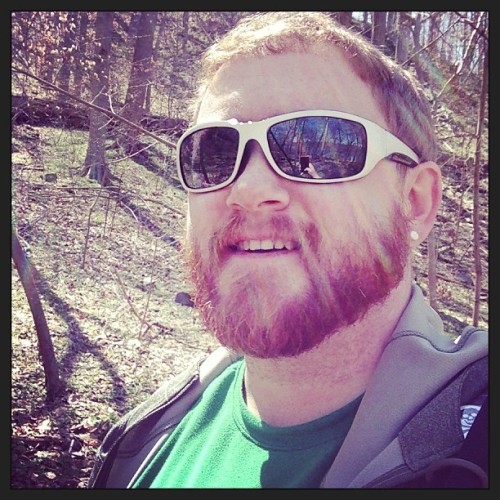 Making use of this beautiful day! (at Scotts Run Nature Preserve)